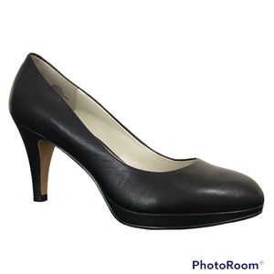 Nine West Selene Black Platform Heels 👠 Pumps